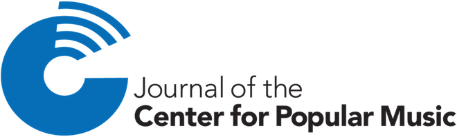 Journal of the Center for Popular Music logo